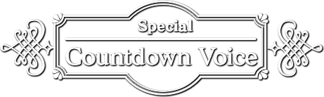 Special Countdown voice